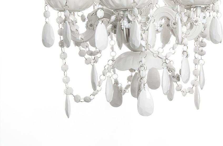 Kronleuchter Gypsy ~ Kronleuchter gypsy weiß 5 lampen leitmotiv kaufen